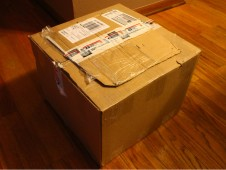 How the package arrived from USPS, click on the image to enlarge