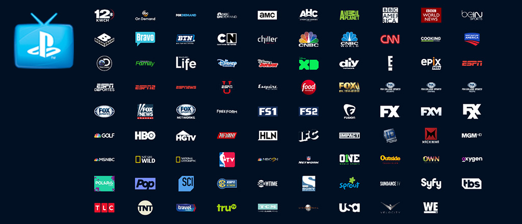 Playstation VUE Streaming Live TV Service