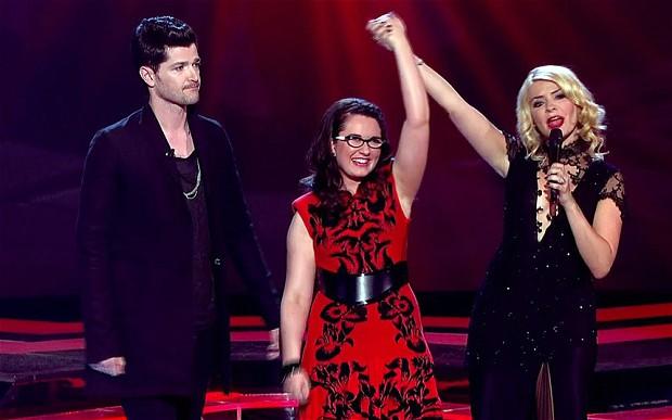 Andrea Begley wins The Voice UK