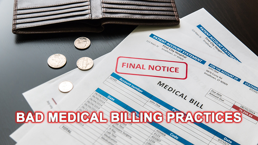 Bad Medical Billing Practices