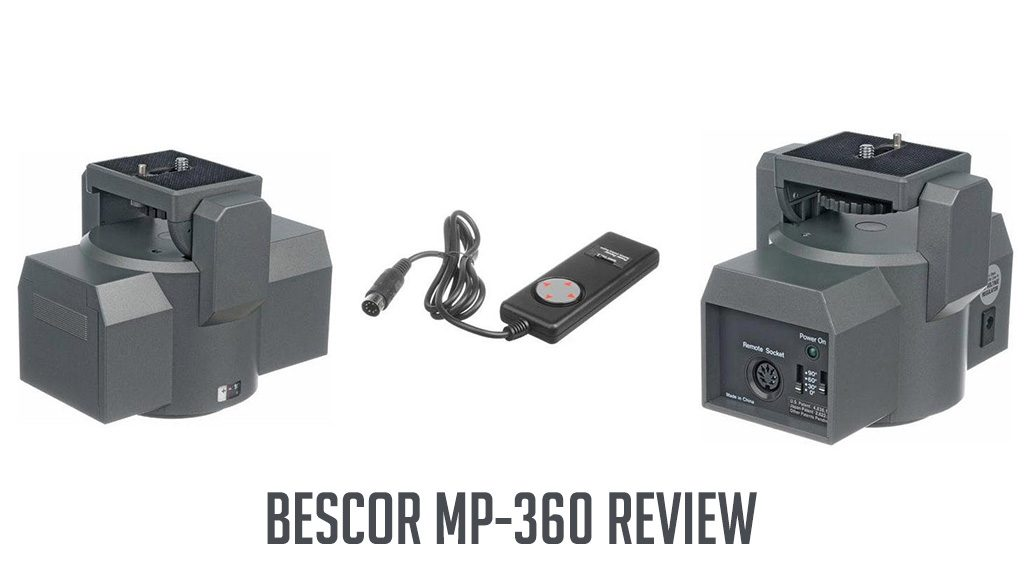 Bescor MP-360 Video Motorized Pan Head