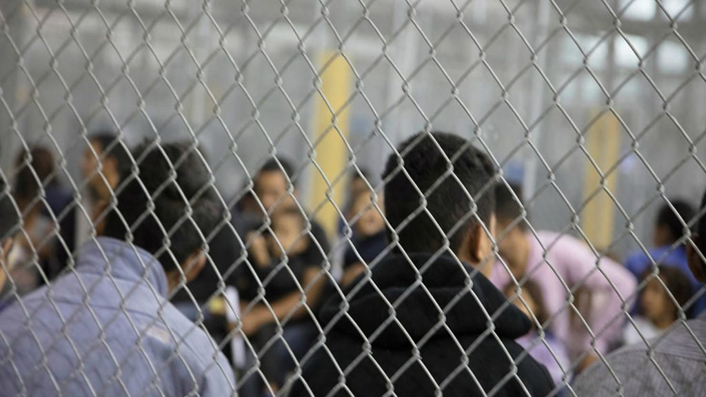 Immigrant Children Separated From Their Parents and Caged Up In Detention Centers