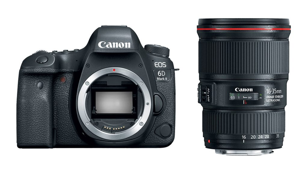 Canon EOS 6d Mk II + EF 16-35mm F/4L