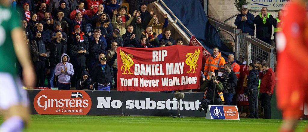 Daniel May You'll Never Walk Alone