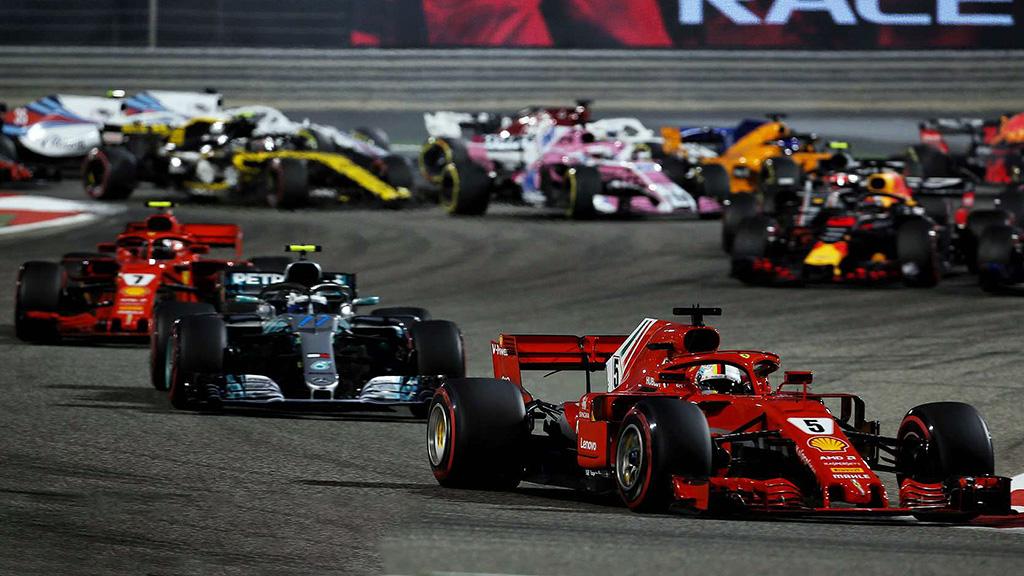 Bahrain F1 Grand Prix 2018