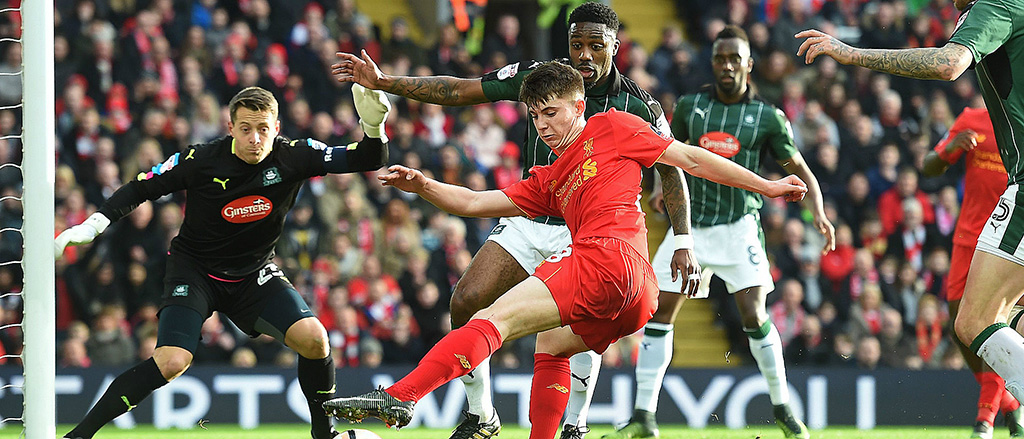 Liverpool V Plymouth Argyle, FA Cup 2017