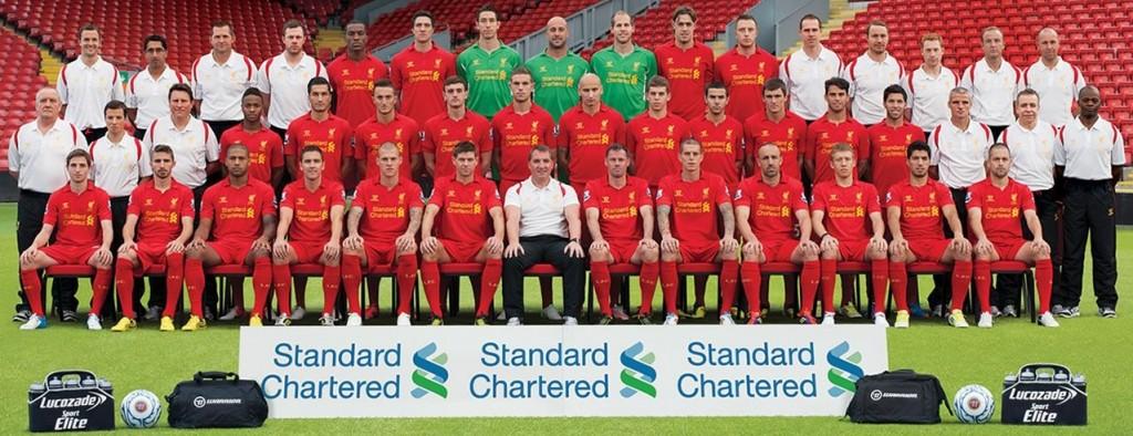 Liverpool Squad 2012/13
