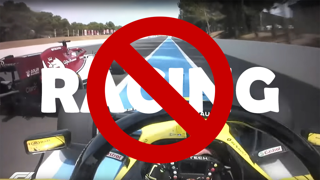 No Racing Allowed