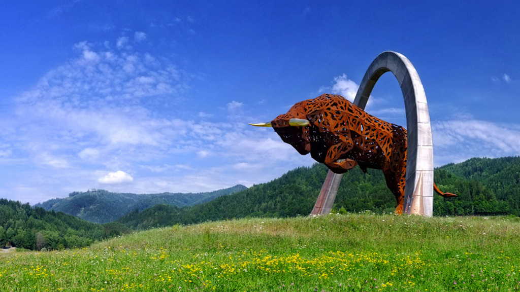 Red Bull Ring Statue