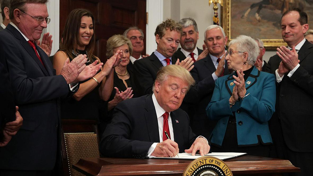 Trump Signs Executive Order To End ACA Subsidies
